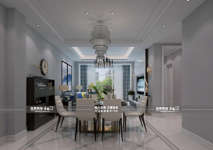别墅 凤凰城央墅 现代风格 餐厅图片来自百家设计小刘在碧桂园凤凰城央墅220平现代风的分享