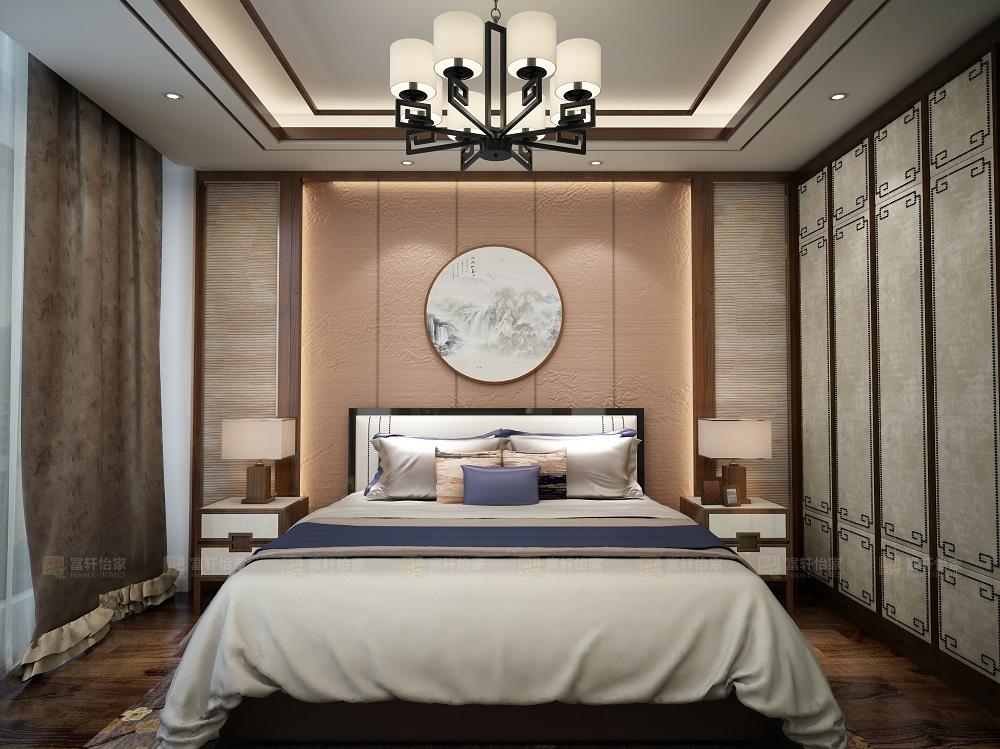 中式 卧室图片来自富轩怡家在富轩怡家案例的分享