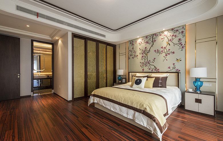 卧室图片来自家装大管家在唯美生活 156平欧式时尚雅致3居的分享