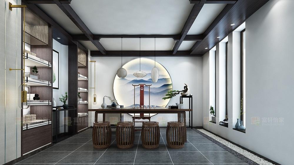 客厅 中式图片来自富轩怡家在富轩怡家案例的分享