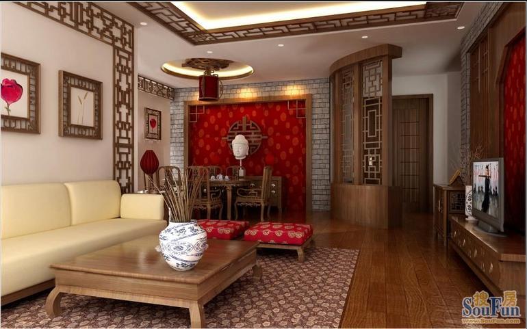 简约图片来自...在今朝装饰——中式风格的分享