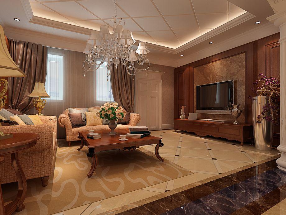 客厅图片来自今朝宜居装饰在美式风情的分享