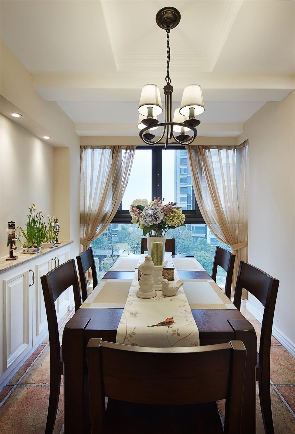 美式 二居 收纳 旧房改造 80后 餐厅图片来自北京今朝装饰在重重美式的分享