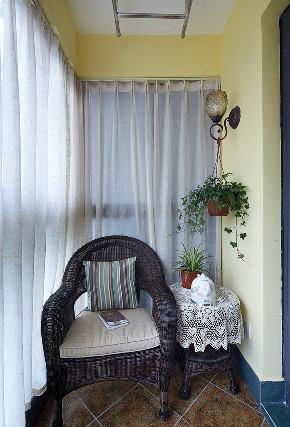 美式 二居 收纳 旧房改造 80后 阳台图片来自北京今朝装饰在重重美式的分享