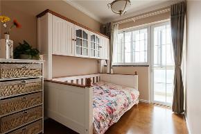 三居 旧房改造 收纳 美式 卧室图片来自北京今朝装饰在美式一家的分享