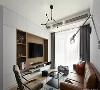 浅灰墙面,充沛的光线,首先便为室内营造出了清爽与通透感,相比于丰富的装饰品,这套作品的有趣之处,却在于根据空间尺寸定制出的各式柜体,将家具功能化,带来更多的独特魅力。