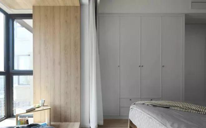 混搭 北欧 简约 半包 全案设计 卧室图片来自鹏友百年装饰在北欧精致设计,生活就该这般诗意的分享