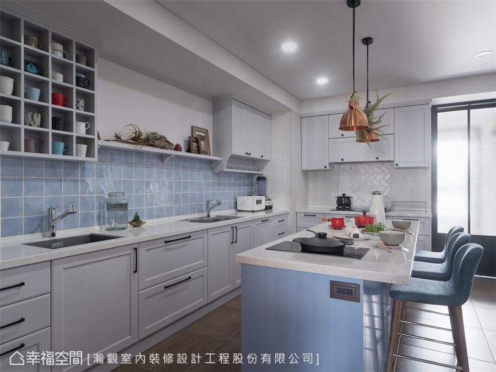 装修设计 装修完成 混搭 厨房图片来自幸福空间在264平, 渲染独一无二的生活画布的分享