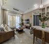 1、客厅装修:硬装外形简洁,布局大方,将空间、人及物品进行合理的组合,用简练的笔画描绘出素雅的空间效果。