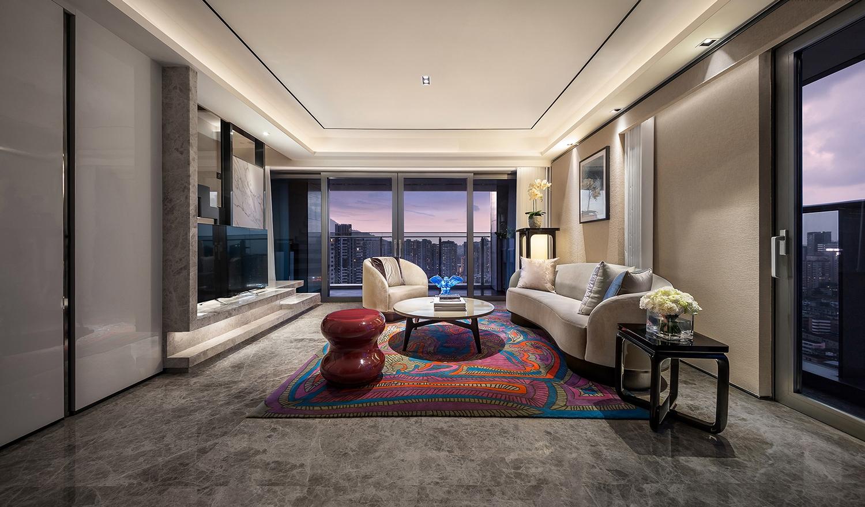 简约 收纳 旧房改造 小资 客厅图片来自北京今朝装饰在现代时尚简约的分享