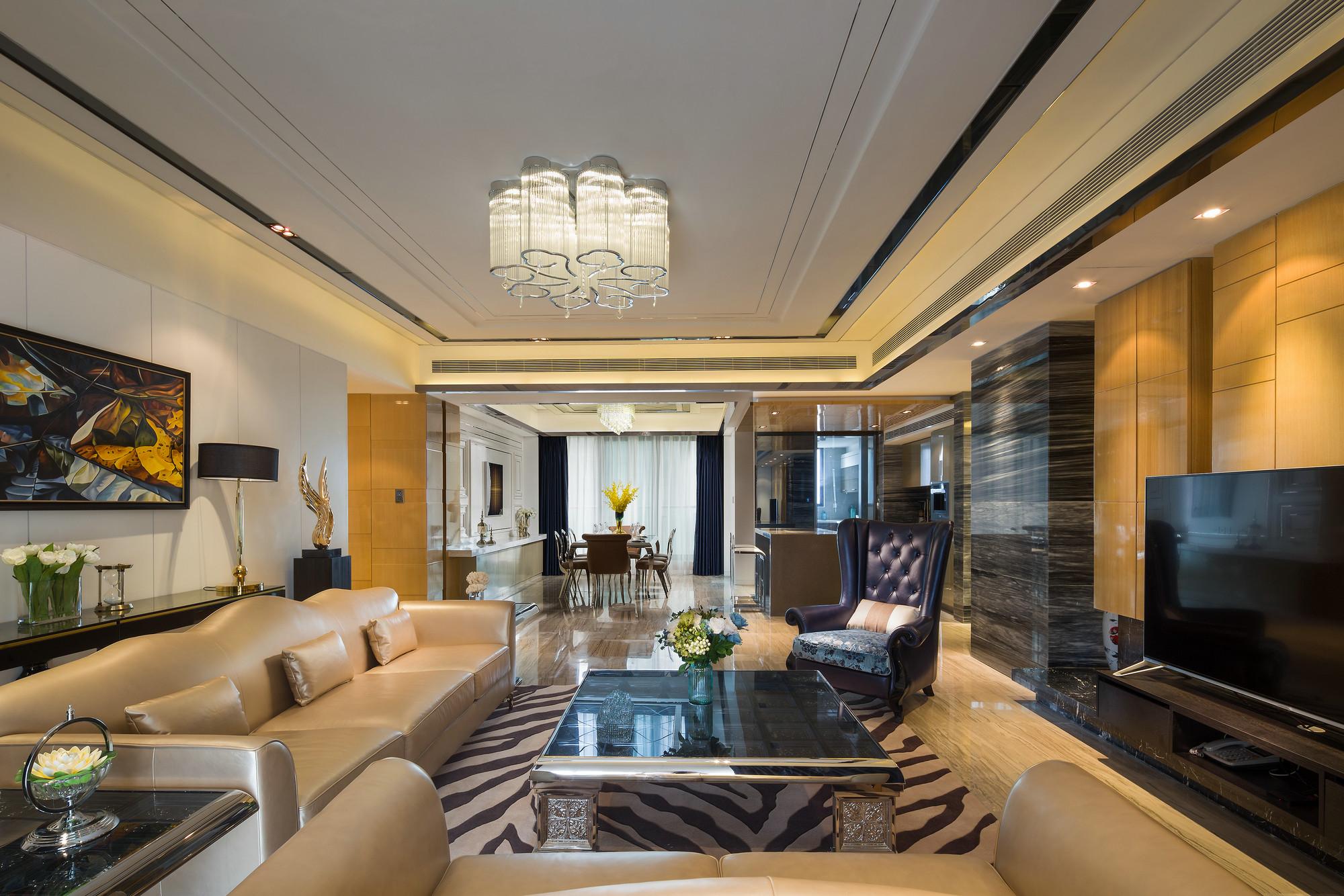 简约 旧房改造 小资 收纳 客厅图片来自北京今朝装饰在简约风的分享