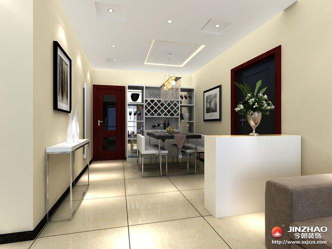 简约 客厅图片来自今朝宜居装饰在体现时代特征现代简约的分享