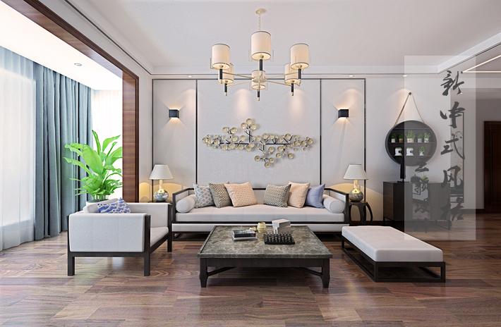 客厅图片来自沈阳百家装饰小姜在百家装饰华润二十四城160平的分享