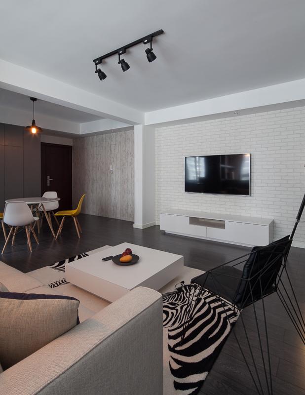 混搭 二居 旧房改造 卧室图片来自北京今朝装饰在混搭风格的分享