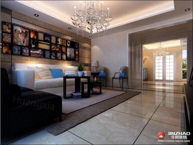 简约 客厅图片来自今朝宜居装饰在简约大气的现代风格的分享