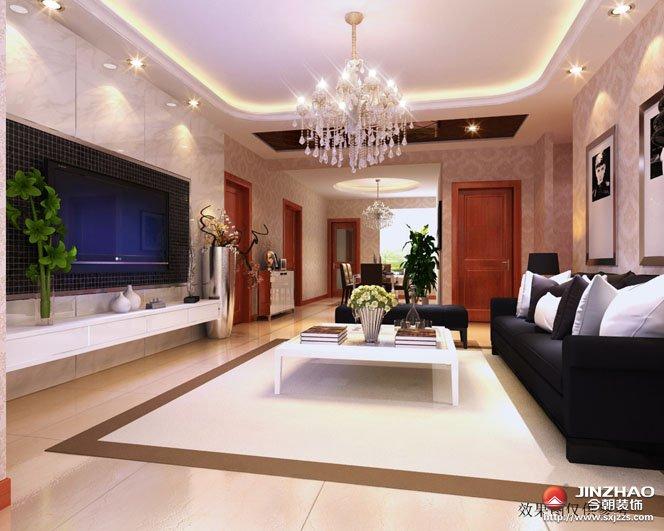 混搭 客厅图片来自今朝宜居装饰在混搭糅合东西方美学的分享