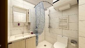 简约 欧式 田园 混搭 二居 卫生间图片来自太原齐家典尚装饰在中正锦城现代简约的分享