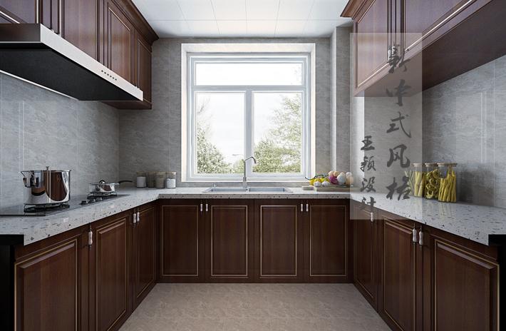 厨房图片来自沈阳百家装饰小姜在百家装饰华润二十四城160平的分享