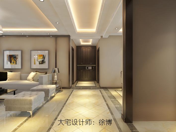 客厅图片来自沈阳百家装饰小姜在百家装饰碧桂园繁华里126平简美的分享