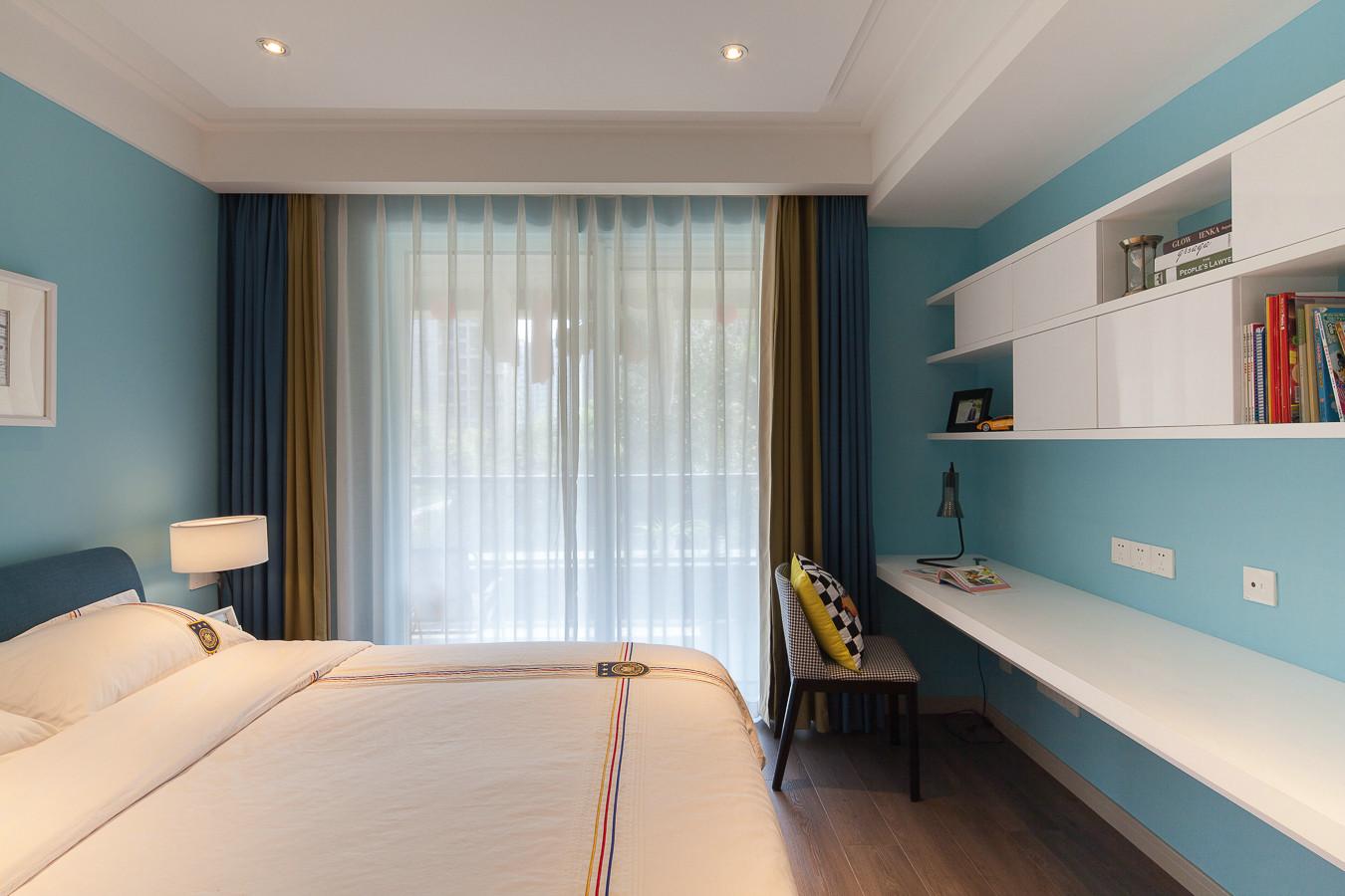 混搭 二居 收纳 旧房改造 小资 卧室图片来自北京今朝装饰在混搭主义的分享