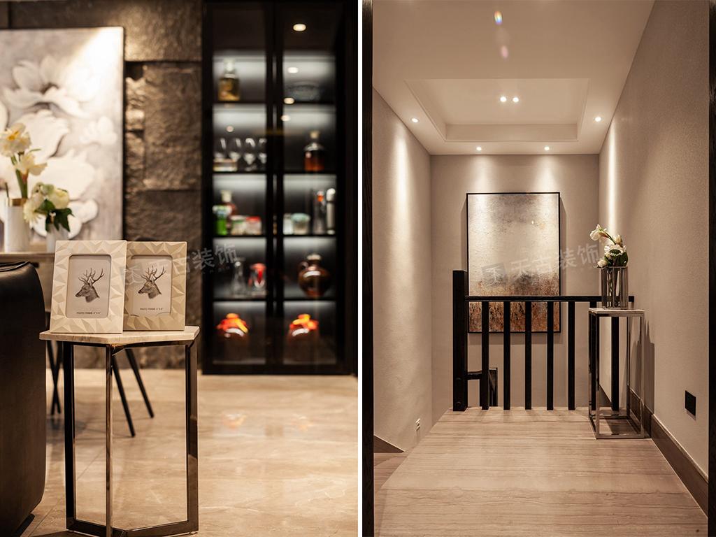 现代简约 别墅设计 天古装饰 楼梯图片来自重庆天古装饰公司在茅莱山居叠拼别墅装修完工实景图的分享