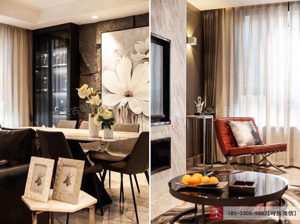 现代简约 别墅设计 天古装饰 客厅图片来自重庆天古装饰公司在茅莱山居叠拼别墅装修完工实景图的分享