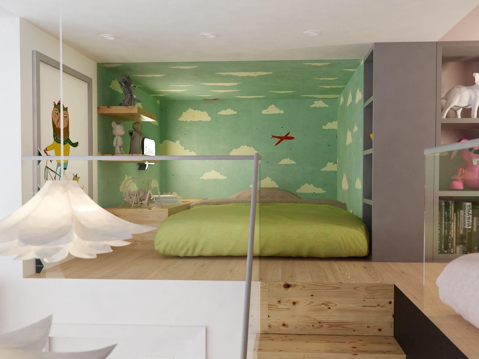 北欧 小资 80后 卧室图片来自北京今朝装饰在北欧案例的分享