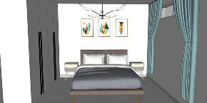 欧式 白领 80后 卧室图片来自夏空间营造在夏•空间营造丨胥江湾花园的分享