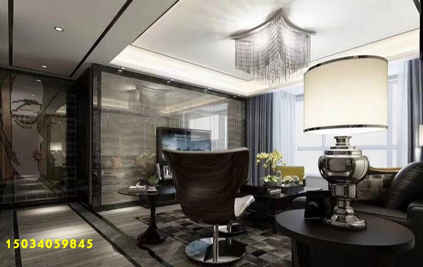 三居图片来自山西今朝装饰在140平米现代简约风的分享