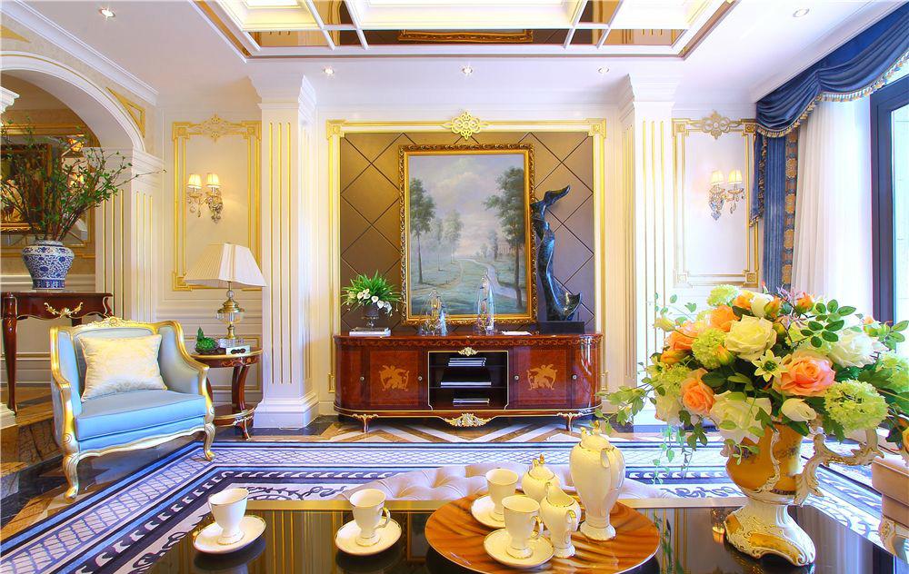 古典 二居 收纳 旧房改造 客厅图片来自北京今朝装饰在新古典风格的分享