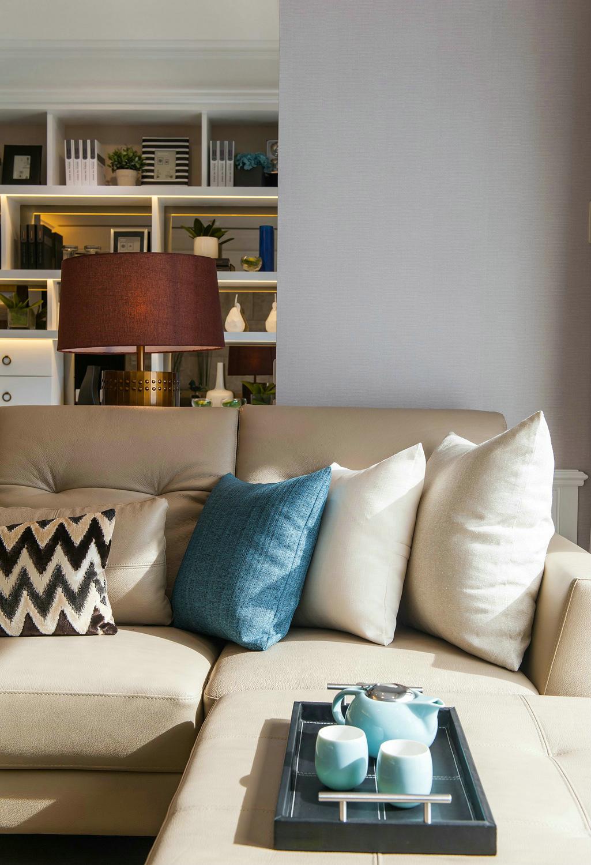 简约 欧式 旧房改造 收纳 客厅图片来自北京今朝装饰在简欧风的分享