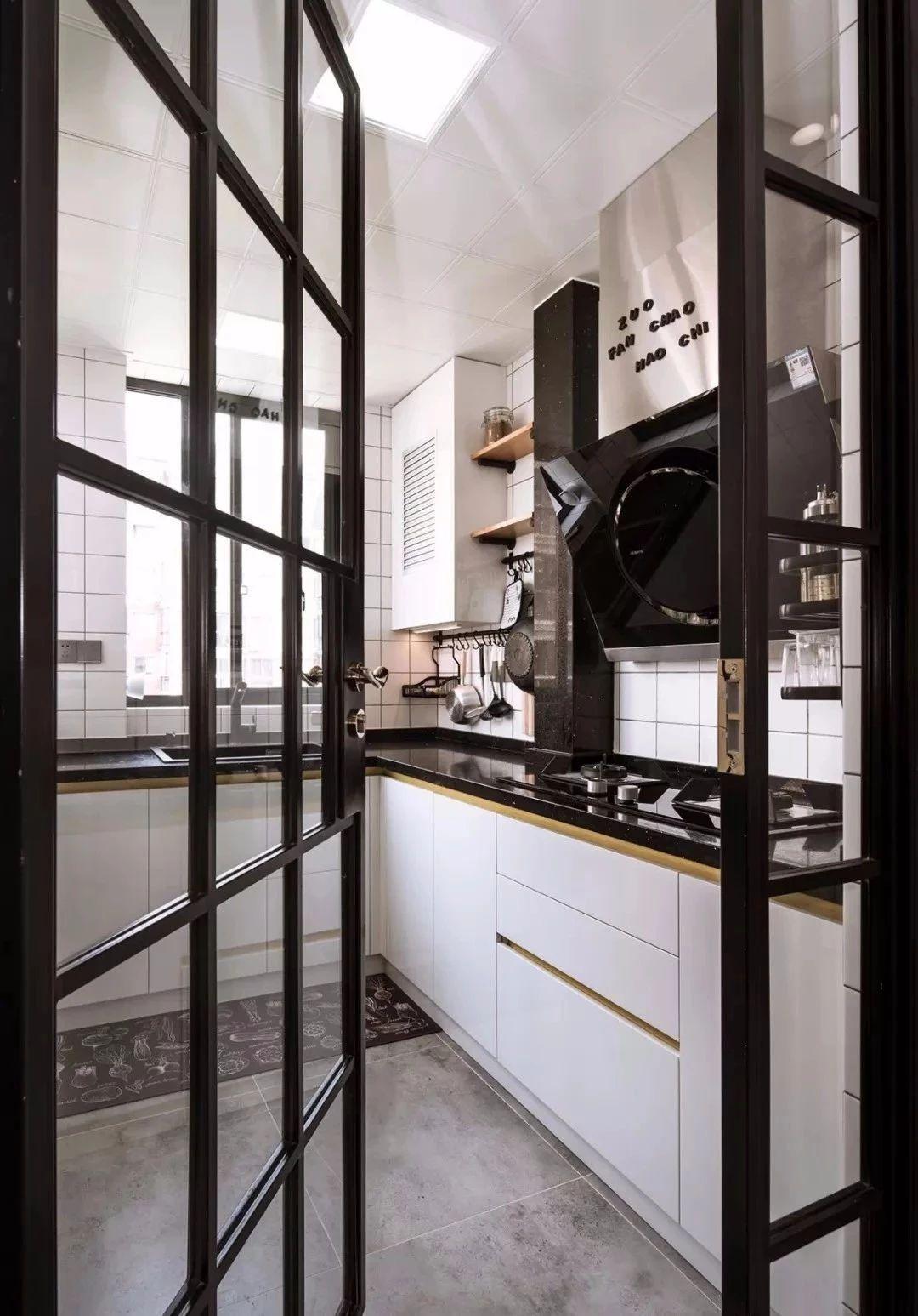 简约 北欧 鹏友百年 半包 全包 全案设计 厨房图片来自鹏友百年装饰在阳台不装栏杆,开放式厨房!的分享