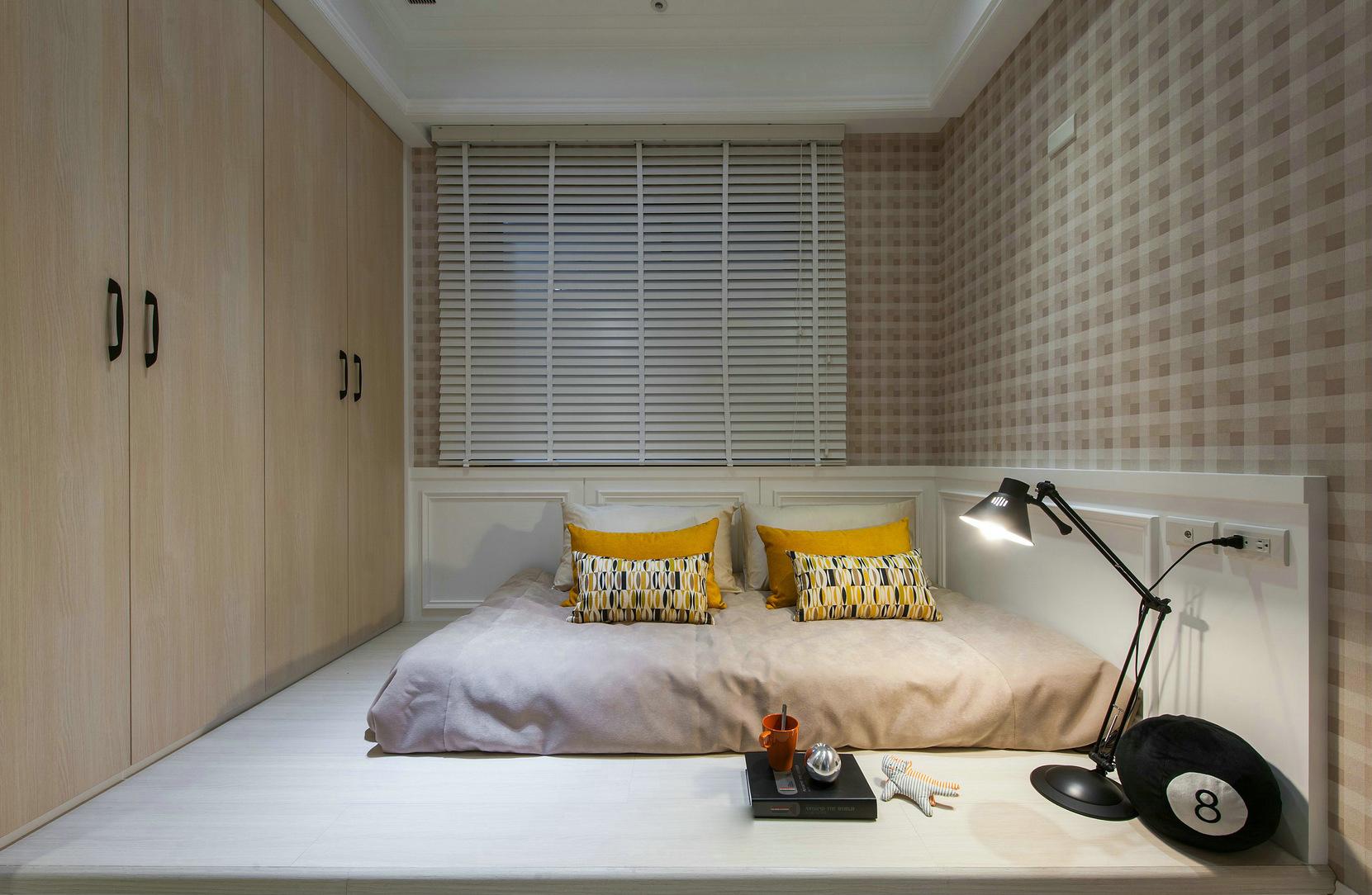 简约 欧式 旧房改造 收纳 卧室图片来自北京今朝装饰在简欧风的分享