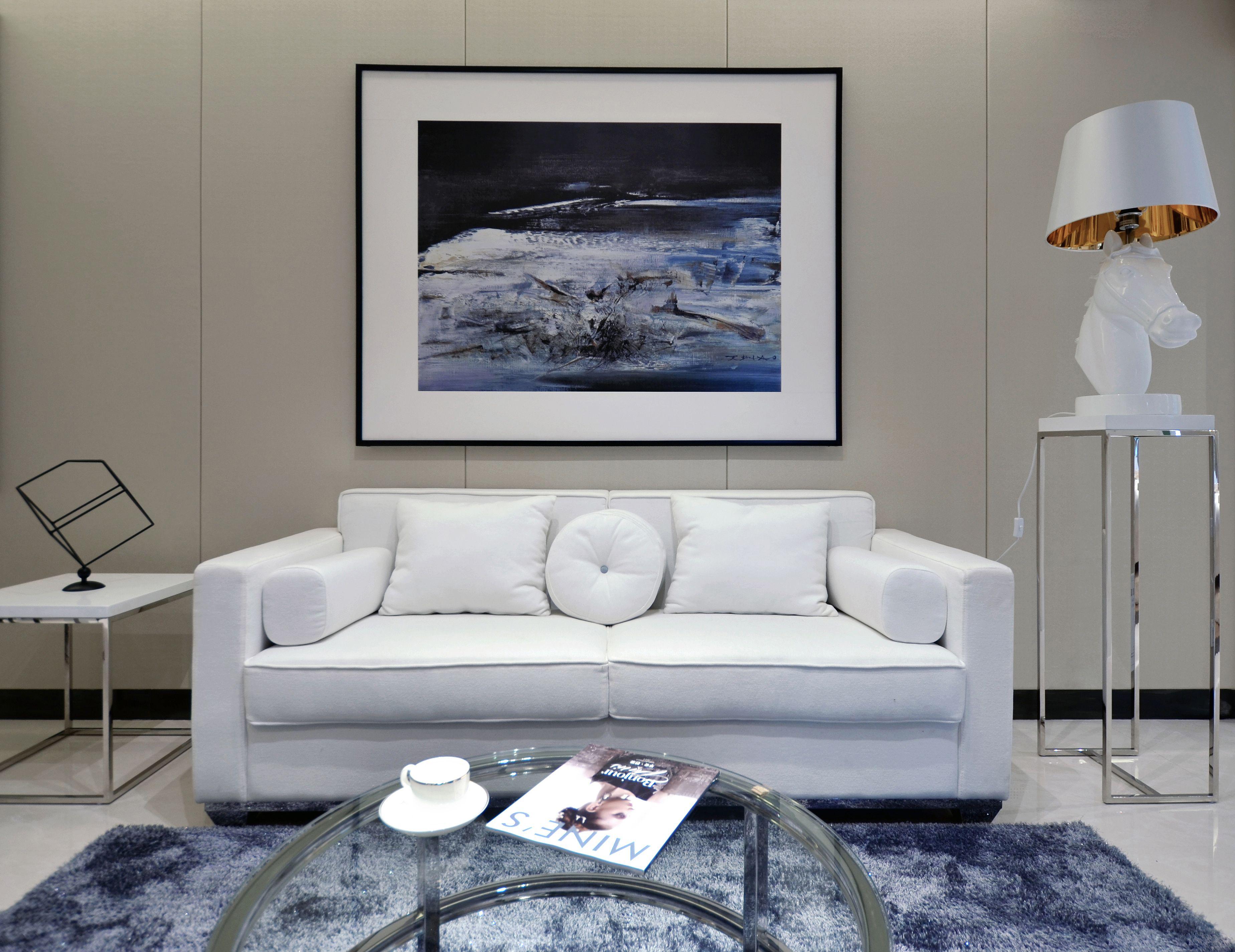 收纳 旧房改造 小资 北欧 客厅图片来自北京今朝装饰在一居室北欧的分享