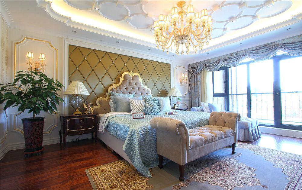 古典 二居 收纳 旧房改造 卧室图片来自北京今朝装饰在新古典风格的分享