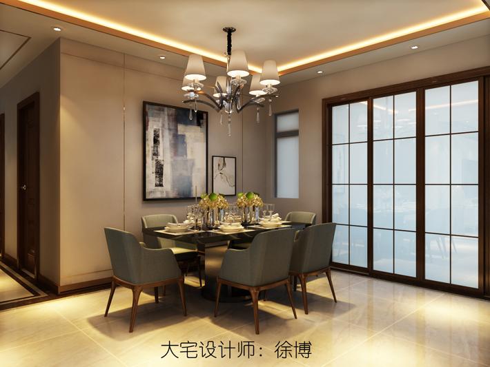 餐厅图片来自沈阳百家装饰小姜在百家装饰美的城100平港式风格的分享