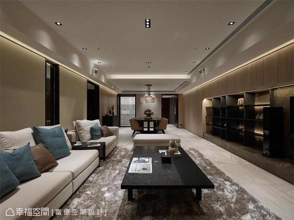 装修设计 装修完成 多元风格 客厅图片来自幸福空间在188平, 开阔的双动线退休美宅的分享