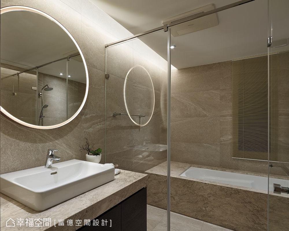 装修设计 装修完成 多元风格 卫生间图片来自幸福空间在188平, 开阔的双动线退休美宅的分享
