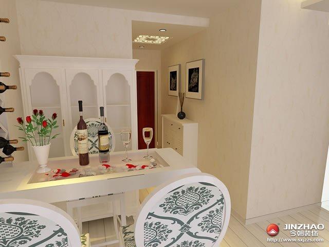 简约 欧式 客厅 餐厅图片来自今朝宜居装饰在简欧风格的小户型设计的分享