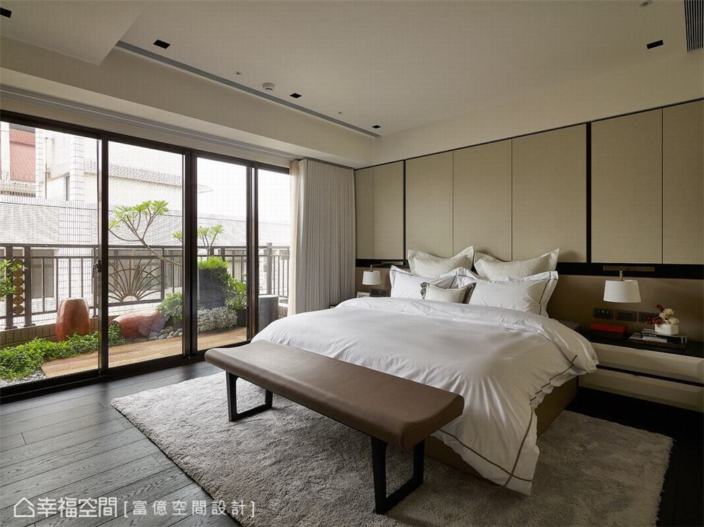 装修设计 装修完成 多元风格 卧室图片来自幸福空间在188平, 开阔的双动线退休美宅的分享