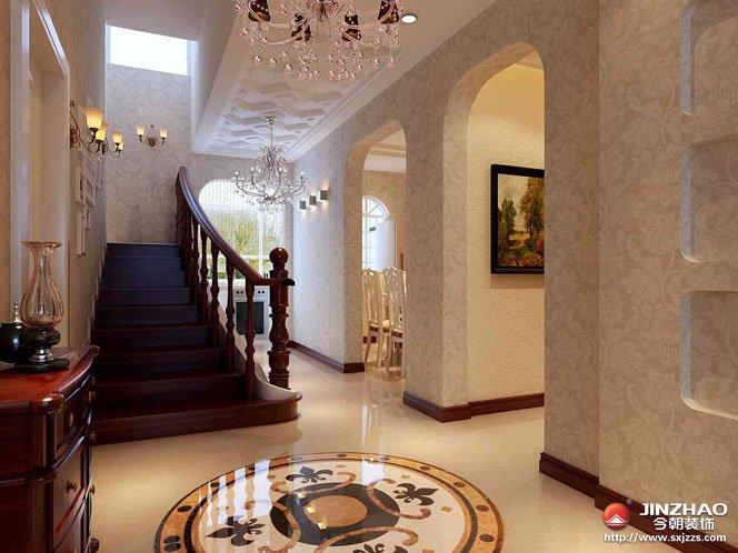 欧式 客厅 餐厅图片来自今朝宜居装饰在欧式新古典主义风貌的分享