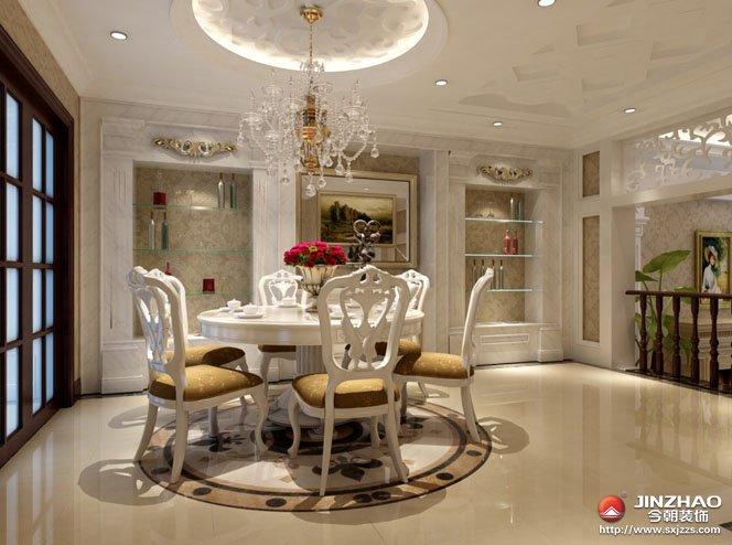 客厅 别墅图片来自今朝宜居装饰在浪漫主义为基础的分享