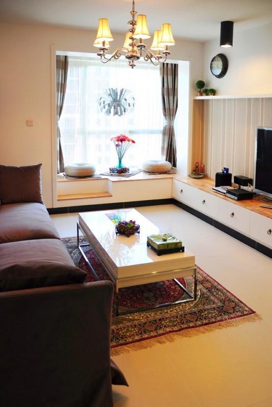 混搭 客厅图片来自今朝宜居装饰在风格定位混搭现代的分享