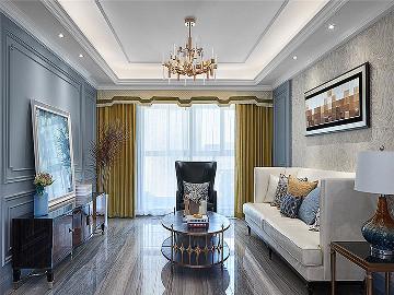 106平现代美式3居 舒适休闲世界