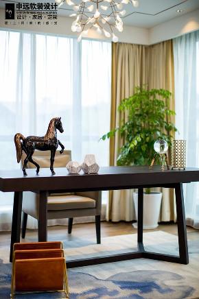 简约 三居 现代 软装 书房图片来自申远空间设计北京分公司在北京申远空间设计-软装实景拍摄的分享