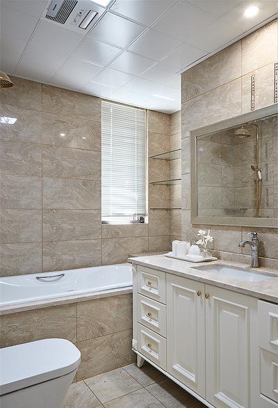 卫生间图片来自家装大管家在106平现代美式3居 舒适休闲世界的分享
