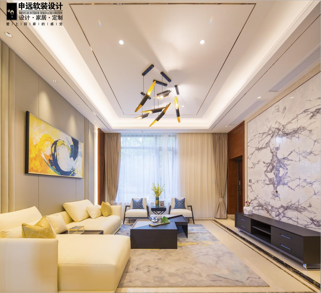 简约 三居 现代 软装 客厅图片来自申远空间设计北京分公司在北京申远空间设计-软装实景拍摄的分享