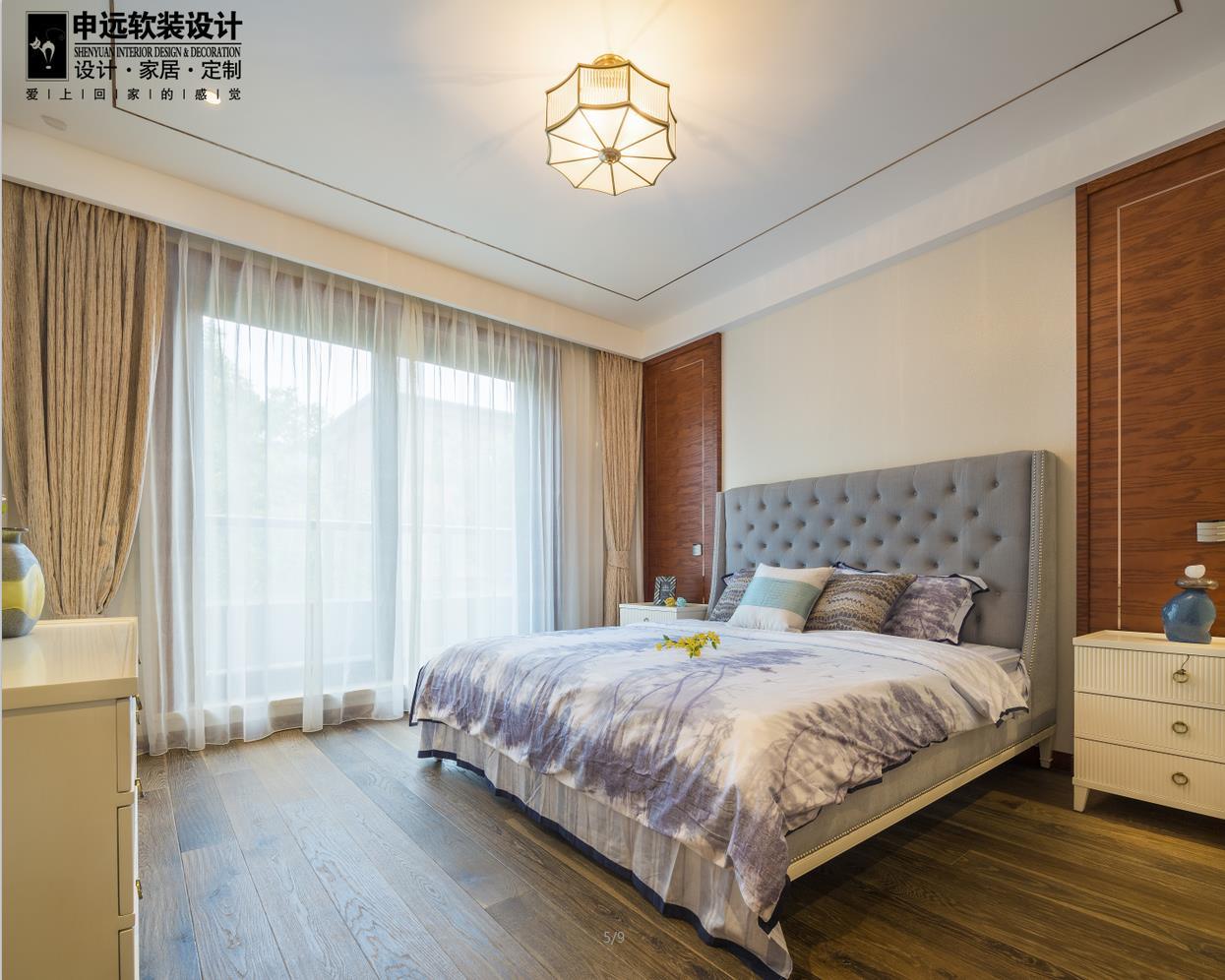 简约 三居 现代 软装 卧室图片来自申远空间设计北京分公司在北京申远空间设计-软装实景拍摄的分享