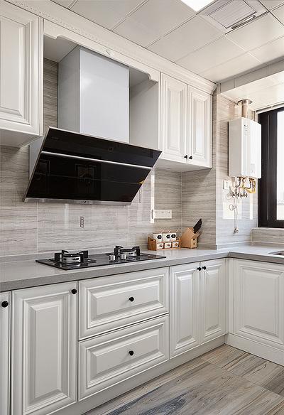 厨房图片来自家装大管家在106平现代美式3居 舒适休闲世界的分享