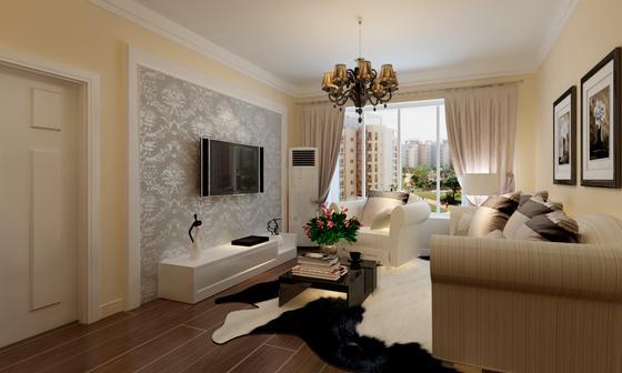 简约 欧式 客厅图片来自今朝宜居装饰在简欧式风格西洋古典风格的分享